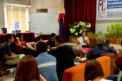 The Master Class had face-to-face online participants from different institutions all over the country.