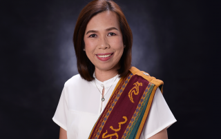 Ms. Rhonna Marie Verena is the Director of the newly established UPOU Ugnayan ng Pahinungod Office.