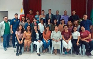 New FICS students with Dean Alexander G. Flor (3rd row, 5th from right)