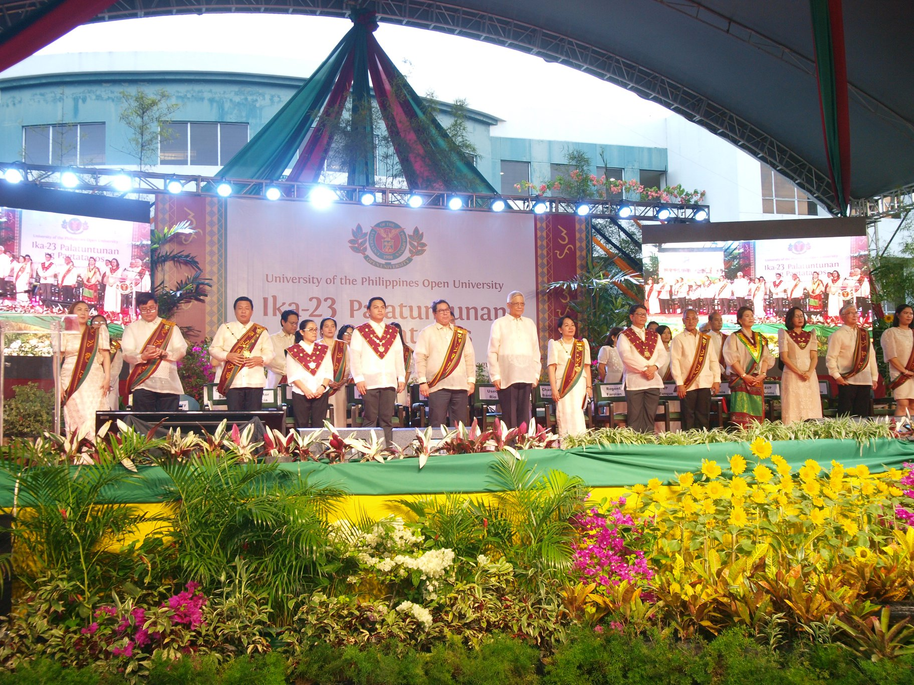 The 23rd UPOU Commencement Exercises was held on 12 October 2019.