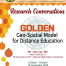 GOLDEN: Geo-Spatial Model for Distance Education