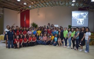 Forty-two Kinder to Grade 3 public school teachers from Bay and Los Baños, Laguna participated in the first Teacher Training Program organized by Ugnayan ng Pahinungód UPOU on 28 October 2019.