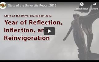 State of the University Report 2019