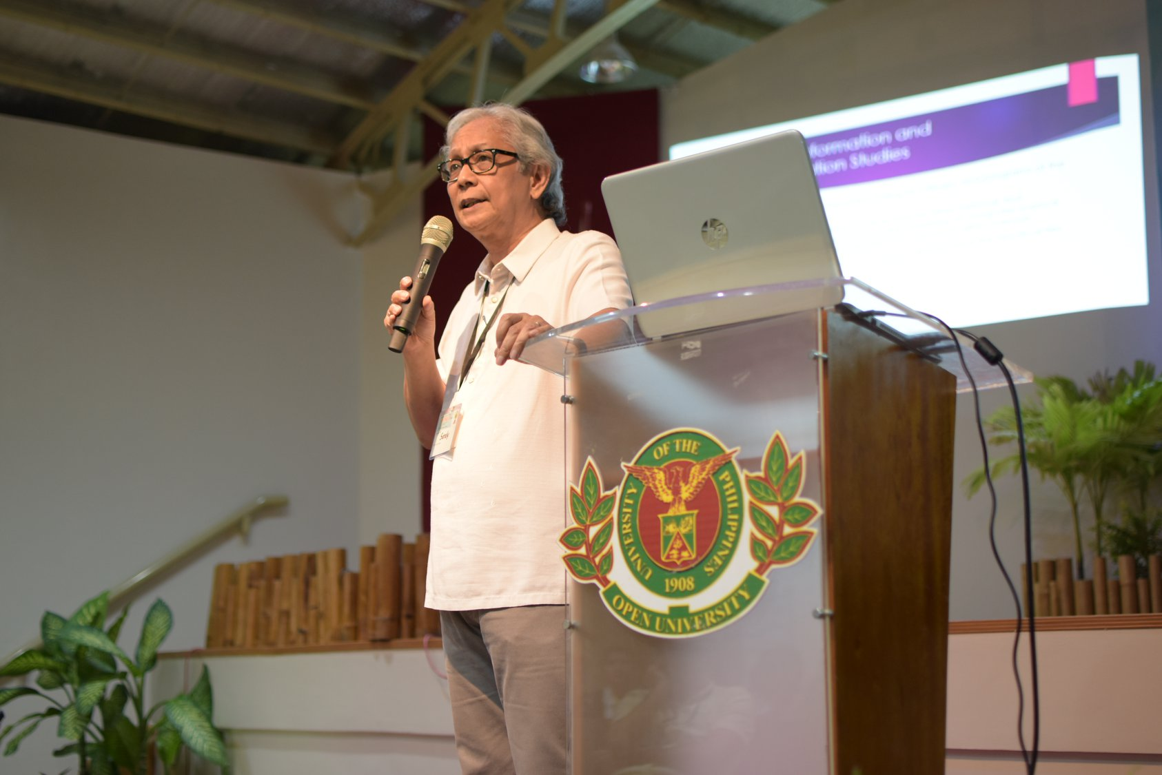 UPOU hosted the Off the Lip 2020 on 24-25 January 2020 at the CCDL Auditorium, UPOU Headquarters, Los Banos, Laguna, Philippines.