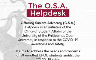 OSA Helpdesk