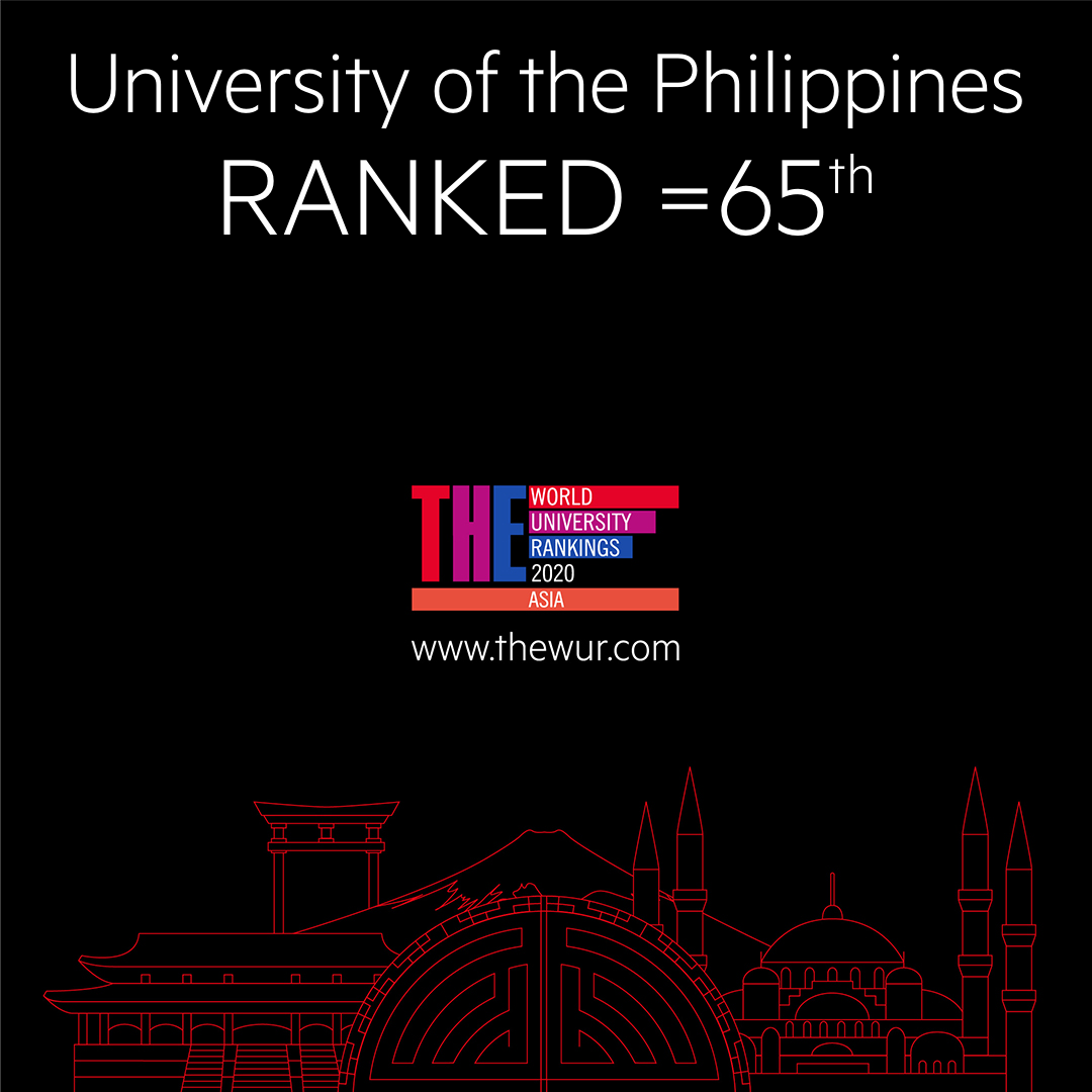 UP climbs 30 points to 65th rank among top universities in Asia
