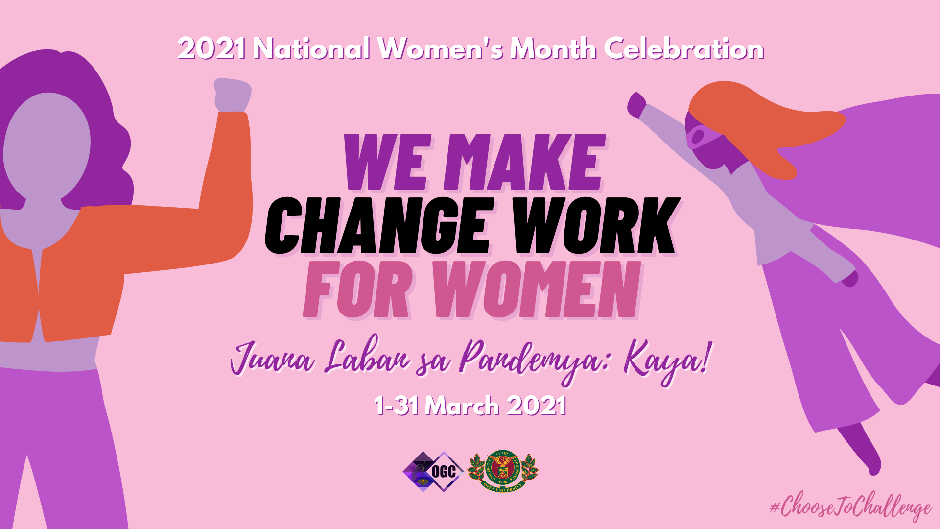 UP Open University Unveils Most Awaited Activities for National Women's Month 2021