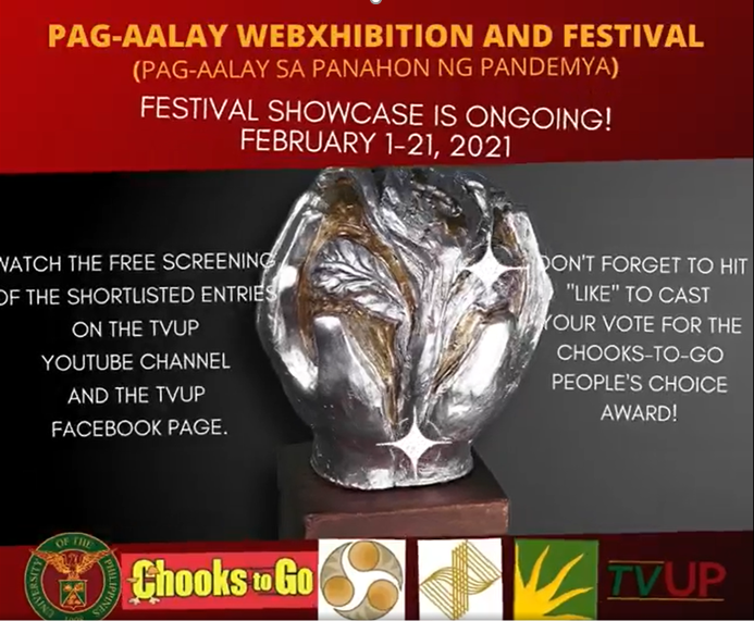 ACTS OF KINDNESS, GENEROSITY, AND SACRIFICE IN PAG-AALAY webXHIBITION & FESTIVAL