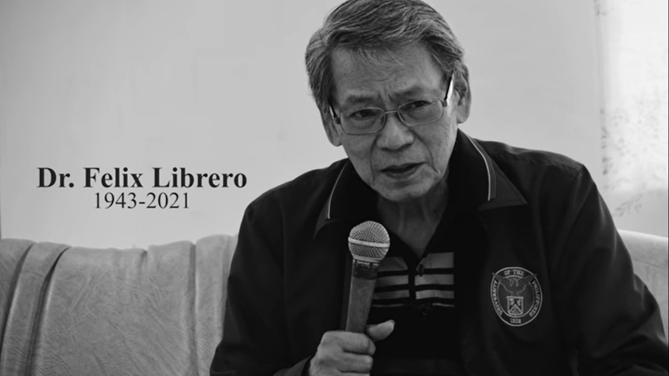 The UPOU community deeply mourns the loss of its former Chancellor, Dr. Felix Librero. Dr. Librero died Tuesday, 16 March 2021. He served as Chancellor of UPOU from 2001 to 2007. Watch the tribute video for Dr. Librero on the UPOU Facebook page.