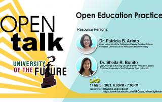 OPEN Talk features Open Education Practice