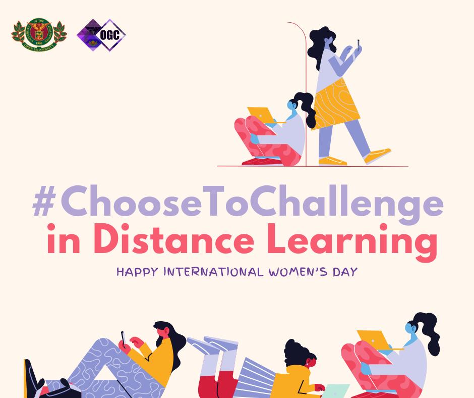 International Women's Month #ChooseToChallenge