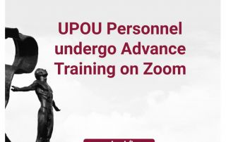 UPOU Personnel undergo Advance Training in Zoom