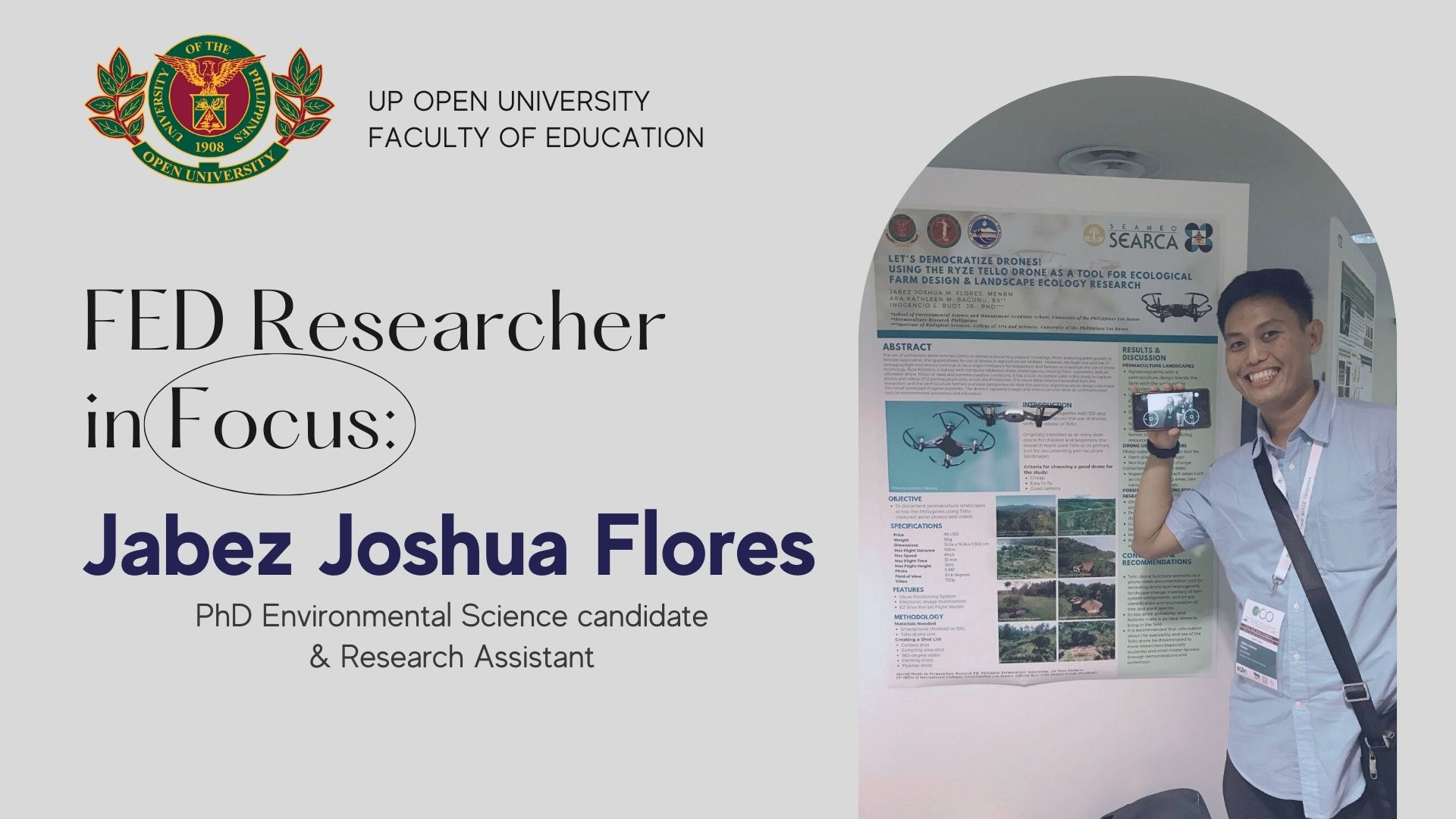 FEd Researcher in Focus: Jabez Joshua Flores