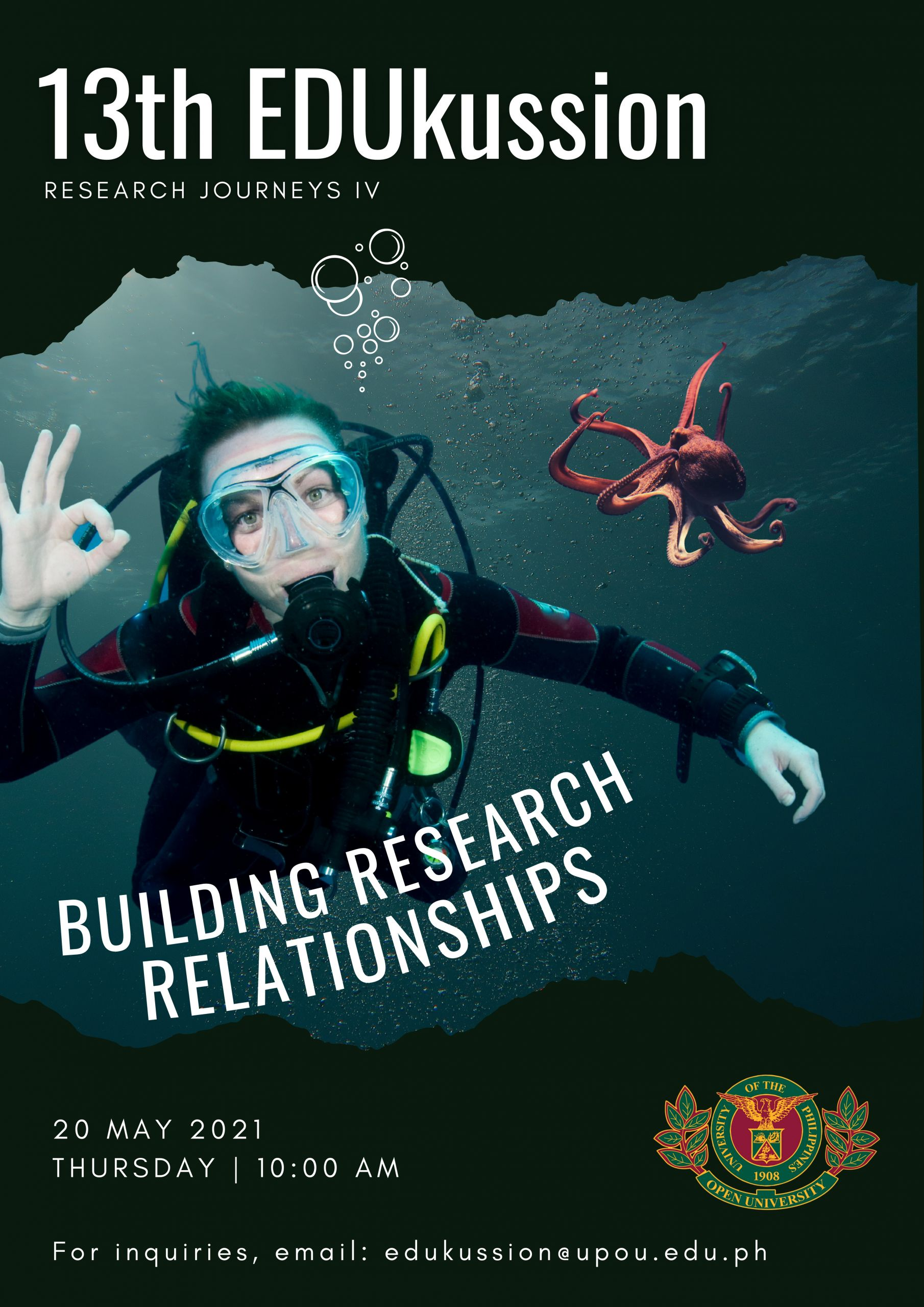 13th EDUkussion: Building Research Relationships