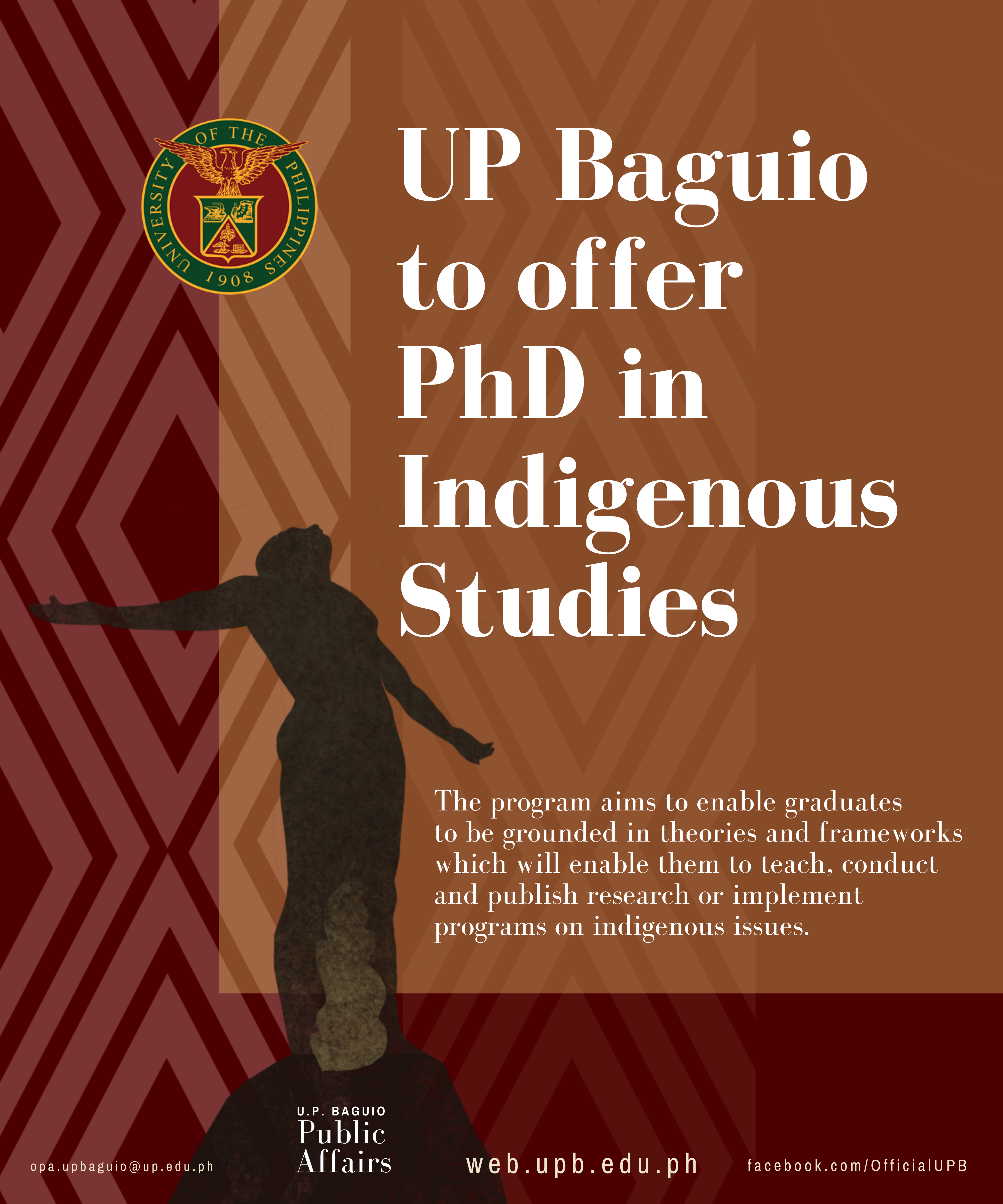 UP Baguio to Offer PhD in Indigenous Studies