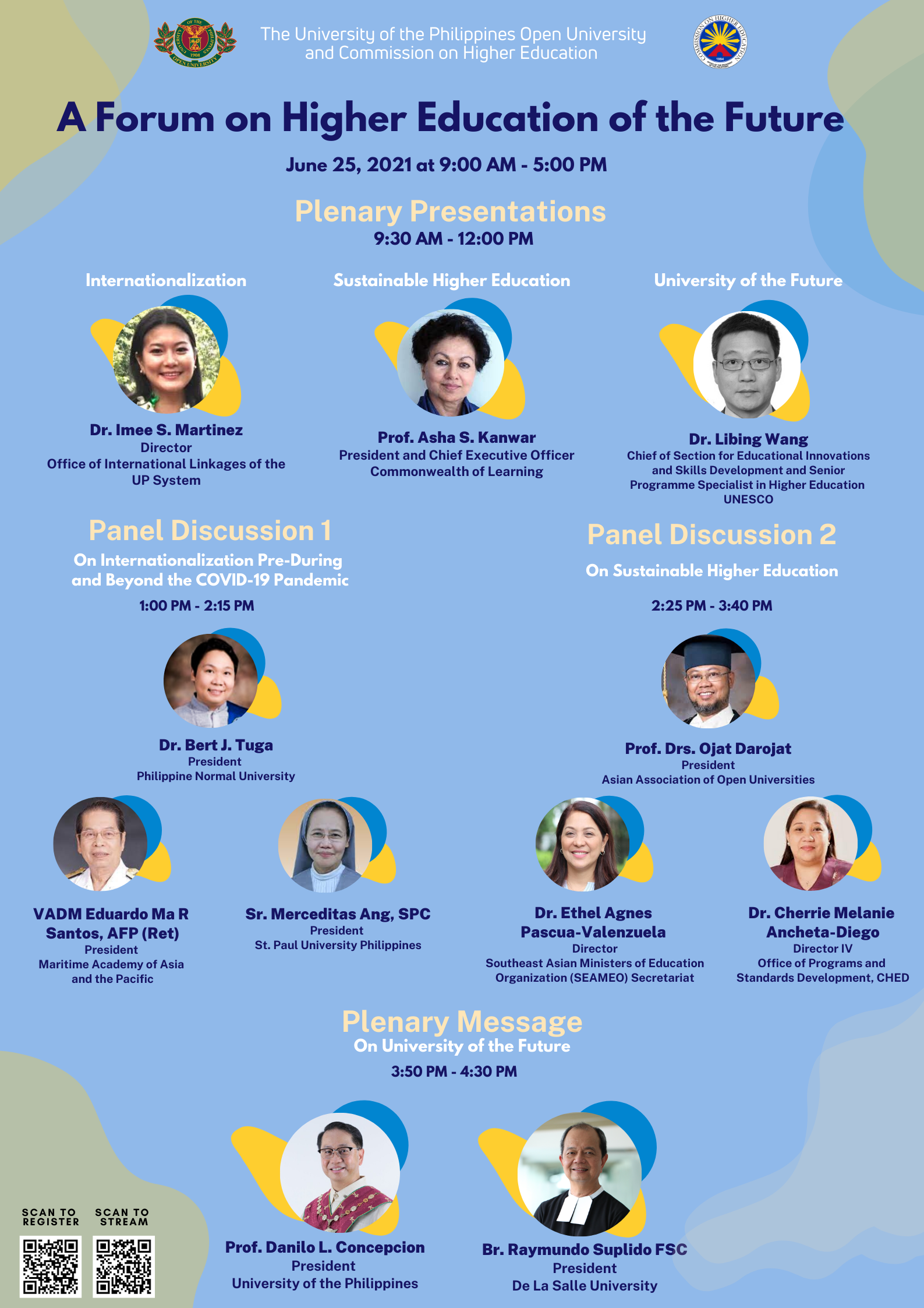Forum on Philippine Higher Education of the Future