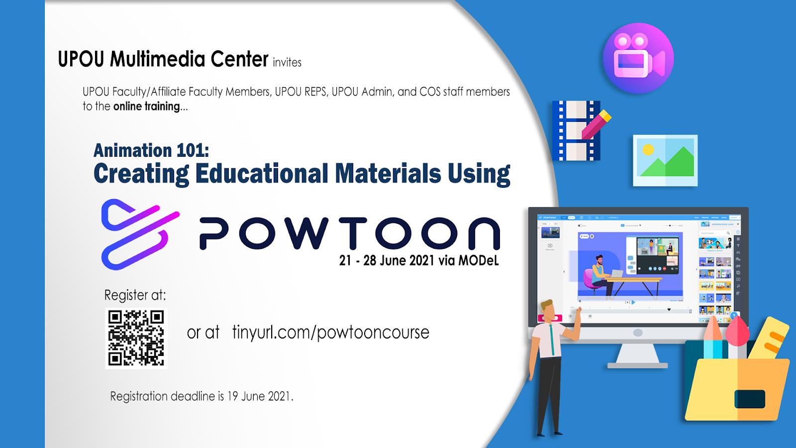 UPOU Multimedia Center conduct training programs