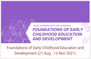 Early Childhood Education and Development Course offered at UPOU