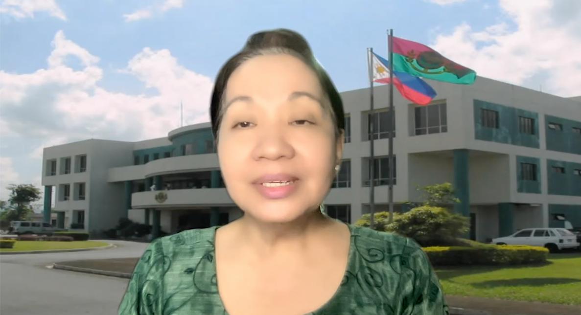 Dr. Melinda Dela Pena Bandalaria, Chancellor of the University of the Philippines Open University