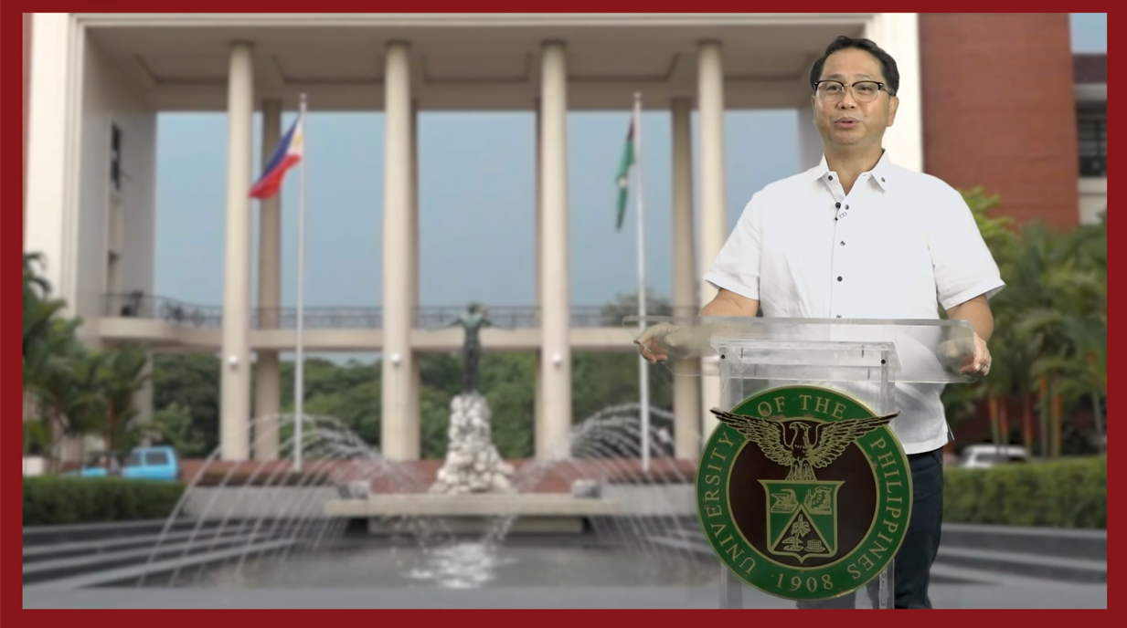 Mr. Danilo L. Concepcion, President of the University of the Philippines System