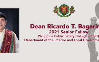 UPOU-FEd Dean Ricardo T. Bagarinao conferred as 2021 Senior Fellow by PPSC, DILG