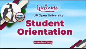 UPOU Student Orientation