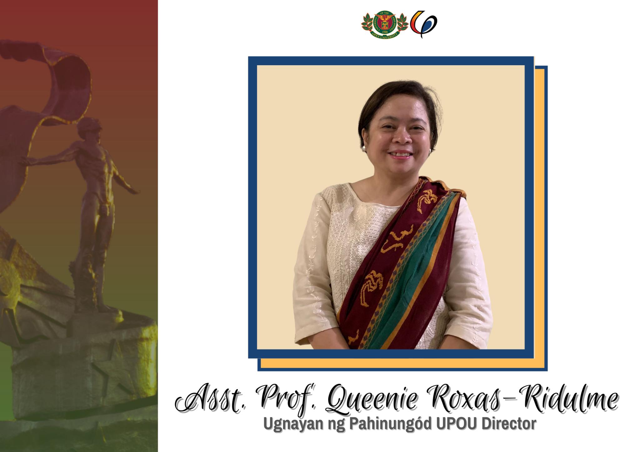 Ugnayan ng Pahinungód UPOU welcomes its new Director